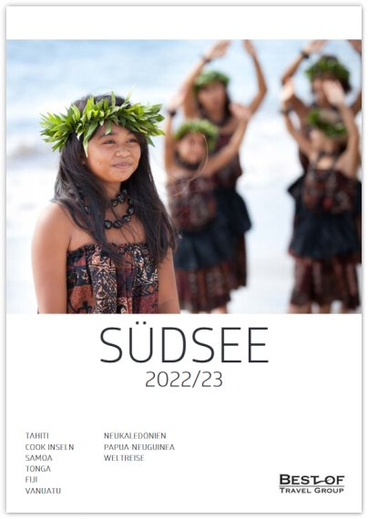 Best of Travel Group  Südsee -  Katalog 2019/20
