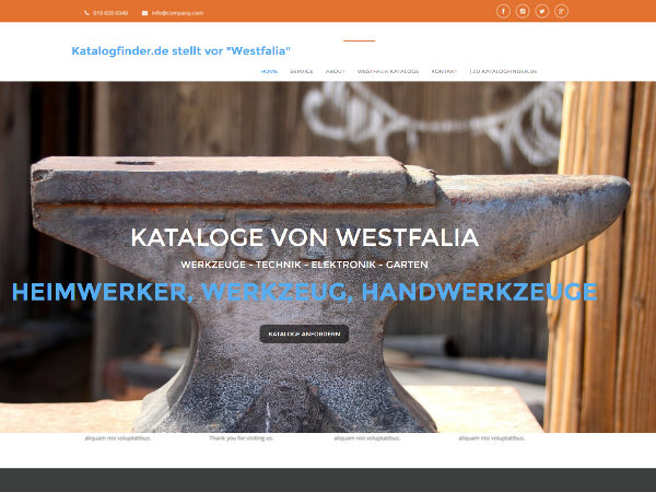 Westfalia Kataloge & Shop